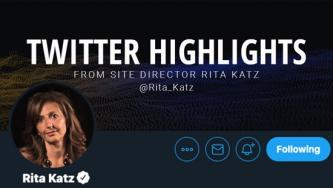 Twitter Highlight: Rita Katz on How al-Qaeda Withheld News of its Second in Command's Assassination