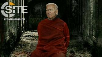 IS-aligned Group Depicts U.S. President-elect Joe Biden as Prisoner Awaiting Execution
