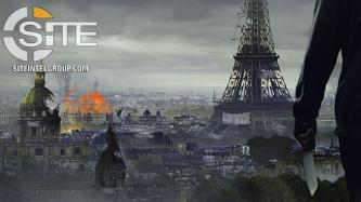 Prominent IS-aligned Group Continues Incitement Against France in Poster Depicting Destroyed Paris