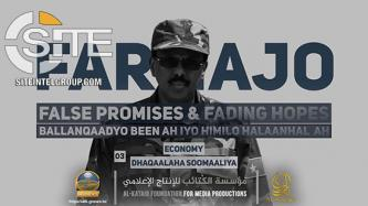 "Shabaab Holds Farmajo Accountable for Poverty, Abysmal GDP Under ""Economic Imperialism"" in 3rd Part of Documentary Series"
