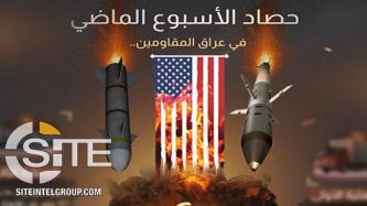 Shi'a Media Outlet Copies IS Style in Infographic on Attacks Targeting U.S. Forces, Support Convoys