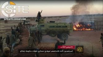 JNIM Claims Killing 15 Malian Troops in Boni, Addresses French Ahead of G5 Summit in N'Djamena