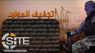 "Pro-IS Group Urges Fighters in Africa to Cut ""Veins of Economy"" Supplying Europe"