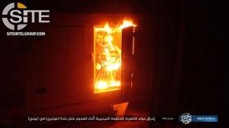 IS Torches Government Buildings, Houses, and Electric Generator Following Raid on Goniri, Provides Photo Documentation