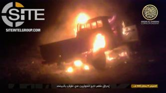 AQAP Documents Successful Offensive on Houthi Positions in Tayyab, Bombs Truck in Mahlab