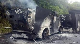 Activist Website Shares News of Arsons Attacking Security Company Vehicles in Barcelona, Spain