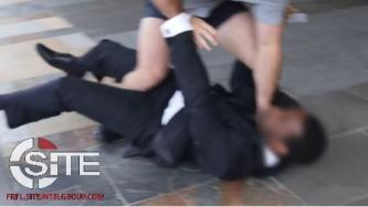 Video Shows Australian Neo-Nazi Assaulting News Station Security Guard
