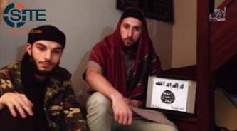IS' 'Amaq News Agency Video Allegedly Shows Normandy Attackers Pledging to IS