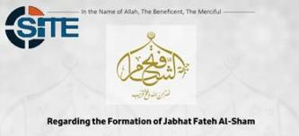 "Jabhat Fateh al-Sham Claims NF-AQ Split Part of Necessary ""Phase"" Toward Opposition Unity"