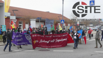 German Anti-Fascist Blog Reports on Series of May 1 Demonstrations, Direct Actions Organized by Far-Left Community