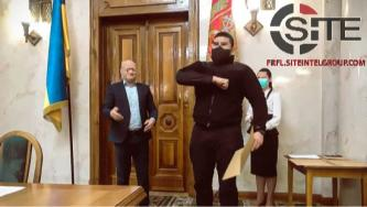 Members of Ukrainian Neo-Nazi Paramilitary Group Receive Awards from Local Government