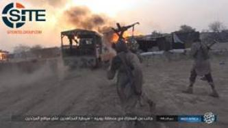 IS' West Africa Province Publishes Photos of Clash in Yobe, War Spoils Captured by Fighters