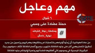 "IS Supporters Disseminate Announcement of ""Counter-Campaign"" to Recent Narratives of Group's Defeat"