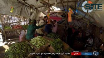 IS' Sinai Province Publishes Photos of Assassinating Egyptian Police Elements in Arish Market