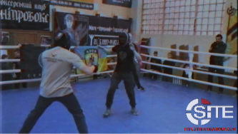 Ukrainian Far-Right Organization Hosts Knife Combat Tournament for Annual Volunteer Fighter Day