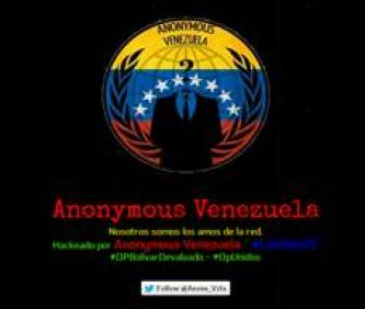 Anonymous Venezuela Targets Government Websites as Part of #OpBolivarDevaluado