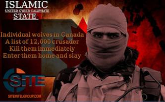 "United Cyber Caliphate Shares 280 Links to Canada ""Kill List"" to Ensure Dissemination"