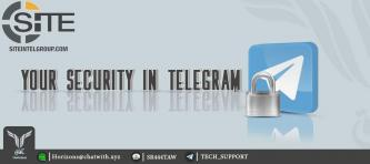 "IS-linked Tech Group Publishes ""Telegram Security"" Manual"