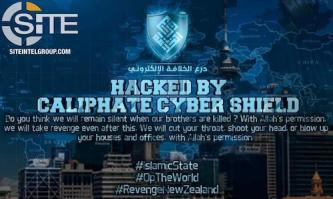 "Caliphate Cyber Shield Deface Websites for ""#RevengeNewZealand"" Hacking Campaign"