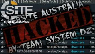 Pro-IS Cyber Group Team System DZ Claims Website Defacement