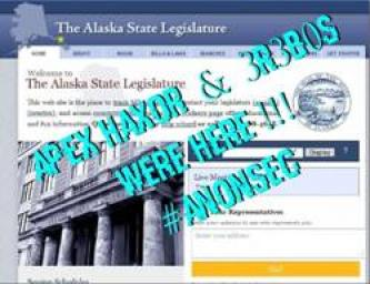"""AnonSec"" Claims Targeting the Alaskan State Senate, Leaking Data"