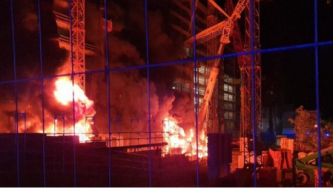 Arsonists Claim Attack on Construction Vehicles In Germany During National Holiday