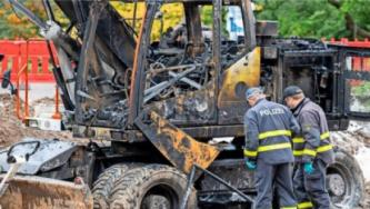 Anarchists in Germany Claim Attack Against Eurovia-Vinci Vehicles
