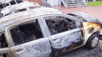 Arsonists Burn Engineering Company Vehicles in Milan, Italy