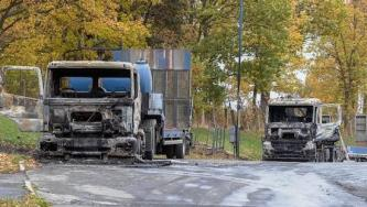 Anarchists Claim Three Arson Attacks against Construction Companies in Saxony, Germany