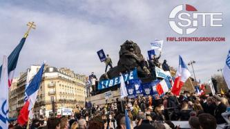 French Identitarian Group Claims 3,000 Protestors Attended Anti-Dissolution Paris Demonstration