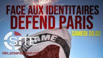 Far-Left French Group Organizes Counter-Protest Against Identitarian Demonstration in Paris