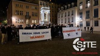 Paris Protest Organized to Save French Identitarian Group from Disbandment