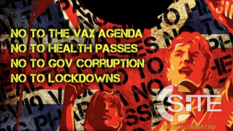 UK COVID-19 Conspiracy Groups Plan Further Protests Against Vaccines and Lockdowns in April and May
