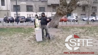 Hungarian Neo-Nazi Destroys BLM Statue Erected in Budapest