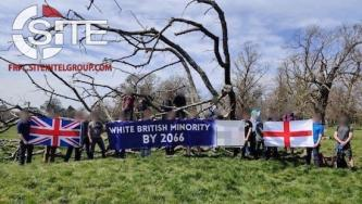 "Videos and Photos Document ""Great Replacement"" Leafletting Activities by White Nationalists in England, Wales"