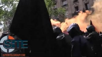Anti-Fascists in Paris, France Release Video of a May Day Protest turned Violent, Activists Clashing with Police