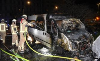 Anarchists Claim Arson Attack Against a DITIB Transporter in Berlin, Germany, Claim Solidarity with Afrin