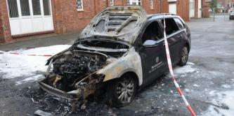 German Anarchists Claim an Incendiary Attack Against Bundeswehr Vehicle in Protest of G20 Summit