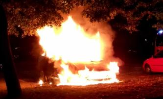 "German Anarchists Claim an Incendiary Attack Against a ""Diplomatic Vehicle"""
