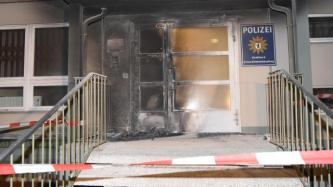 German Anarchists Claim Arson Attack on Police Station in the Capital of Berlin