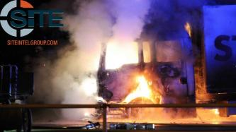 German Anarchists in Berlin Claim Incendiary Attack Against STRABAG Truck in Solidarity with Arrested G20 Protest