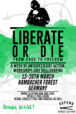 "Eco-Activists in Germany Announce ""Liberate or Die"" Action Camp Directed at Teaching Direct Action Techniques"