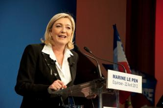 "White Supremacists Laud Marine Le Pen Speech in Koblenz, Declare ""Nationalism is Coming Back"""