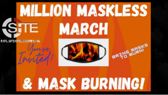 "Prominent QAnon Venues Promote April 10 ""Million Maskless March"" in Florida"