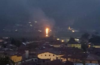 Activist Website Shares News of an Arson Attack Against a Repeater in the Town Volano, Italy