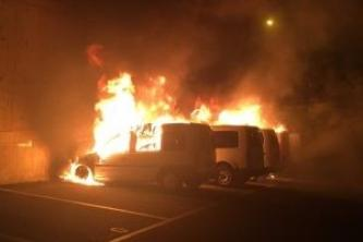 "Activist Website Shares News of Incendiary Attacks in Switzerland Targeting Several Vehicles Owned by ""Town Hall"""