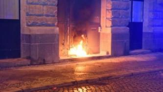 "Activists Claim Incendiary Attack Against Police Station in ""Remembrance"" with Deceased Comrade"