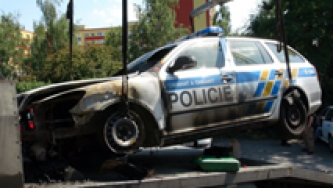 Anarchist Group Claims Targeting Police Car in Czech Republic