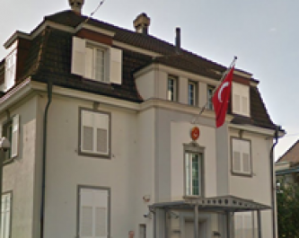Turkish Consulate in Zurich Targeted in Solidarity with Revolutionaries