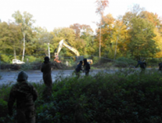 Environmentalists Claim Sabotage and Train Blockade in Hambach